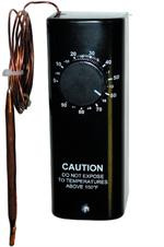 L06Y-01 6' Capillary Bulb, 0-90F, 22 Amp, Heat/Cool, 24-480V