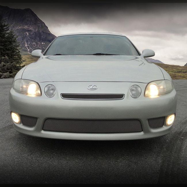 1997 Lexus Sc Suspension: Lexus SC Mesh Grille PKG 4 PCS Upper & Lower Set 1997-2000