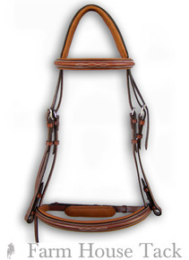 Shown With Optional Crank Noseband