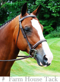 Red Barn by KL Select Fusion Hunter Bridle