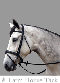 ThinLine Dressage Bridle W/ Flash