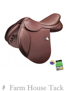 Bates Caprilli Close Contact Saddle w/CAIR Panels