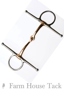 JP Korsteel Copper Mouth Full Cheek Snaffle