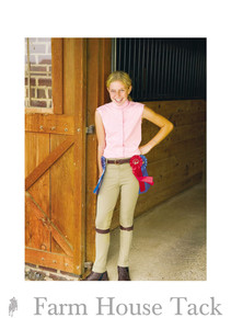 *Tuffrider Child's Cotton Lowrise Pull On Jodhpurs