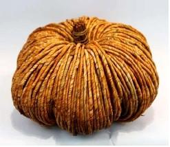 "Cornhusk Pumpkin - Large (11.75"" x 7"")"