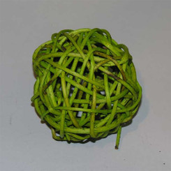 CURLY WILLOW BALL - BASIL - 4""