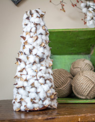 Faux Cotton Cone - Medium - 17.25""
