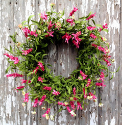 DESERT ROSE WREATH - 22""