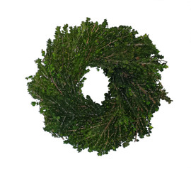 "Lepto Wreath - 10"" - 4 Wreaths/Case"