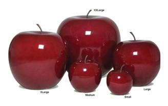 "Fruit - Apple Red - Extra Extra Large - 30.3"" x 30.3"" x 31.1"""