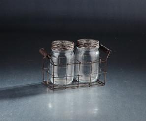 Glass Decor - 2 pc Set