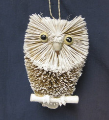 HANDMADE ORNAMENT - SNOWY OWL