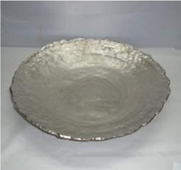 ALUMINUM HAMMERED BOWL - 17 x 2.75""