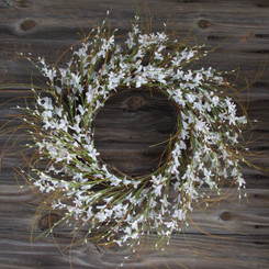 Pure Elegance Wreath - 22""