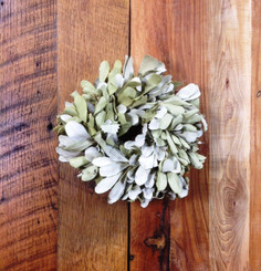 "MOUNTAIN SAGE 10"" NAT WREATH - MIN 4 (DRIED)"