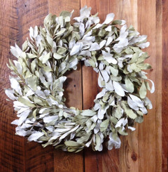 "MOUNTAIN SAGE 24"" NAT WREATH - MIN 2 (DRIED)"