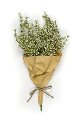 FAUX FLOWER BOUQUET - CREAM