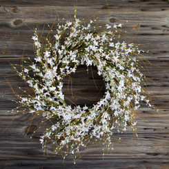 PURE ELEGANCE WREATH - 28""