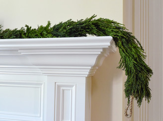 TUSCAN CYPRESS COUNTRY MANOR GARLAND - 70.5 x 3""