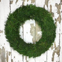 TUSCAN CYPRESS COUNTRY MANOR WREATH - 20""