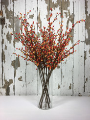 "AUTUMN BERRY SPRAY 32"" MIN 12"