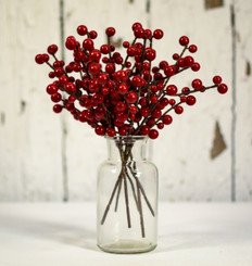 "ILEX BERRY PICK - BURGUNDY - 8"" - MIN. 144"