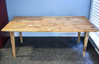 "Olive Wood Coffee Table - 24 X 48"""