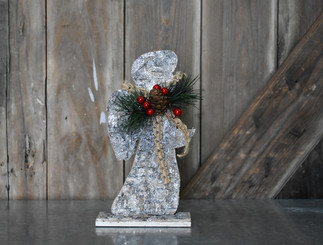 WHITE BIRCH ICED ANGEL - 9.5""