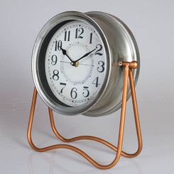 TABLE CLOCK - BRONZE