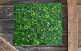Boxwood Placemat - 14 X 16""