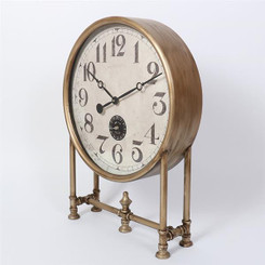 TABLE CLOCK - LIBRARY