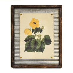 WALL ART - LEMON HIBISCUS - 17.5 x 21.5""