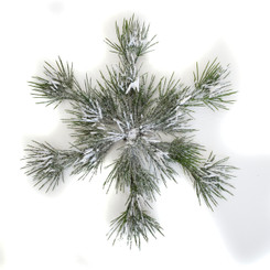 WINTER SNOWFLAKE 14""