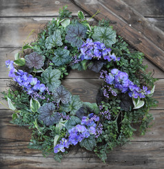 WISTERIA WREATH - 22""