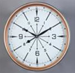 WALL CLOCK - TIMEPIECE  15.75""