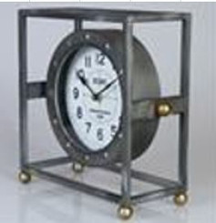 TABLE CLOCK - MANCHESTER  11.5""