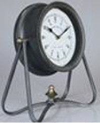 TABLE CLOCK - QUINCY  11.75 X 13.25""