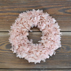 PRES HYDRANGEA RING - PINK 6.5""