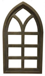 CATHEDRAL FRAME - CHATEAU - 15.7 X 27.6""