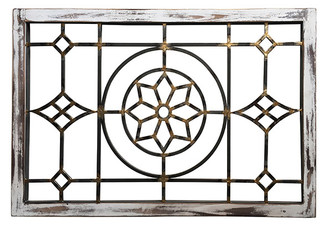 CATHEDRAL FRAME - FLORAL - 23.6 X 36""