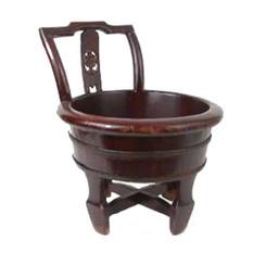 Old Shoe Bucket  - with Handle
