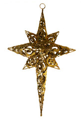 """METAL GLITTER STAR - GOLD - 22.5"""""""