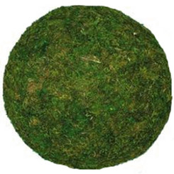 "Moss Ball  - Green - 8"" Medium - 4 Pcs"