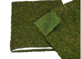 "MOSS MAT - GREEN - 16"" x 18"" - 6 PCS"