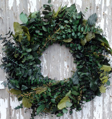 EUCALYPTUS WREATH - CREEKSIDE - 24""