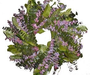 "Eucalyptus Wreath - Bonita - 17"""