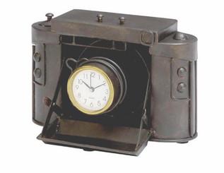 """Antique Clock - Vintage Design - Remembrance - 8"""" x 6"""""""
