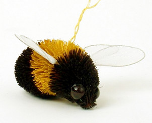 "Handmade Ornament - Bumblebee - 2.5"""