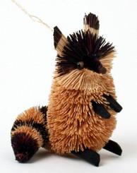 "Handmade Ornament - Raccoon - 4"""