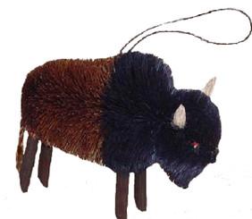 Handmade Ornament - Bison